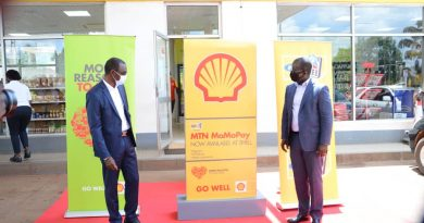 MTN Mobile Money and Shell