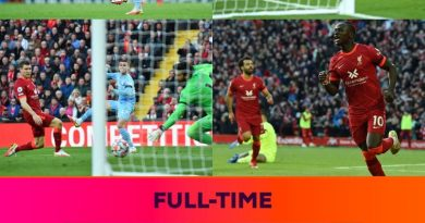 Liverpool Draw with Manchester City