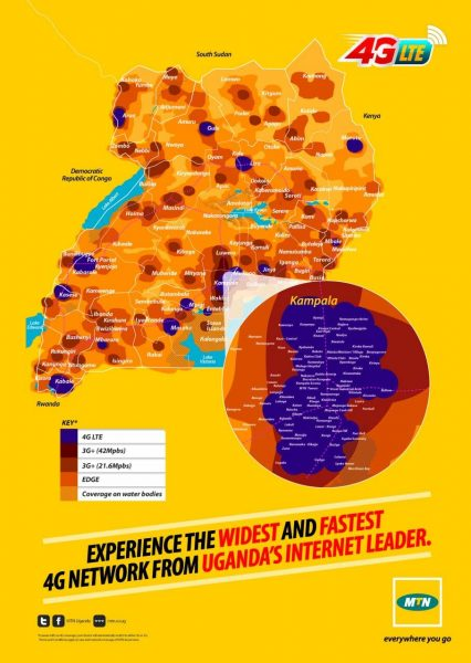 MTN Coverage map